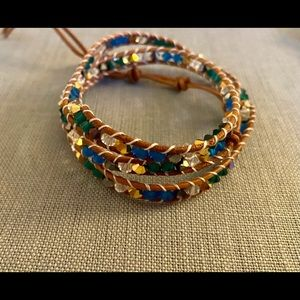 BN Southhill Designs Beaded Triple Wrap!
